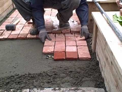 Captivating Installing Cobblestone Patio Pavers In The Front Yard Urban Edible Garden