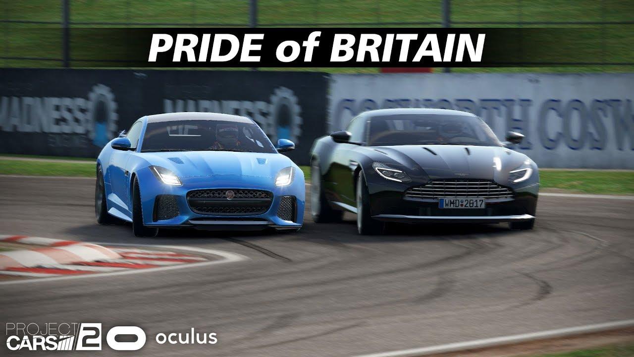 Jaguar F Type Svr Vs Aston Martin Db11 110 Ai Oulton Park Youtube
