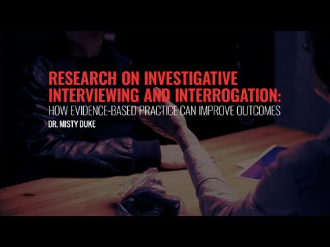 Intro and Section I: The Study of Investigative Interviewing and Deception Detection