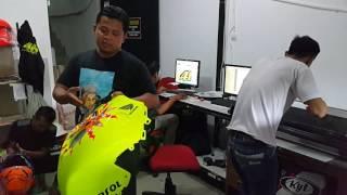Bengkel Modifikasi Cat Motor dan Helm