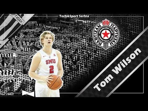 Tom Wilson - Analiza igre   KK Partizan 2017/18