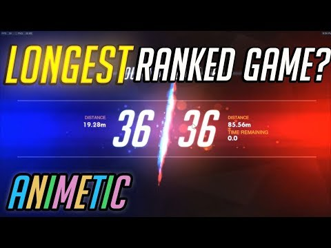 Longest Ranked Game? - Season 10 FINALE - Overwatch