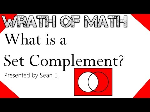What is a Set Complement?