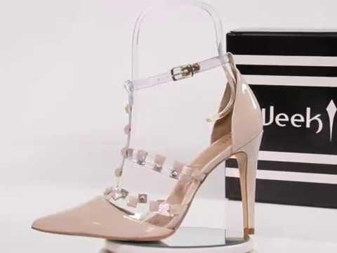 36d52483d Scarpin Valentino Nude e Transparente – Week Shoes: É confiável?