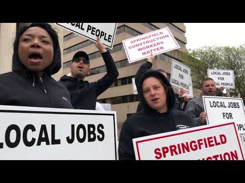 Local unions protest out-of-state workers Mp3