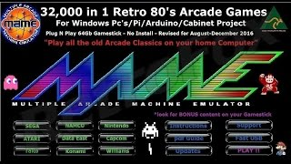 MAME Arcade ROM USB Stick - Scumbag Seller of the Week!