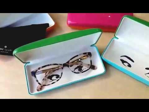 65cdf52af7 Kate Spade Glasses Unboxing - YouTube
