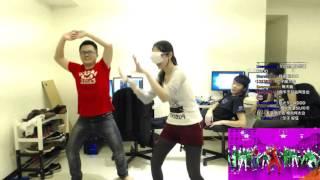葉子葉白大天神阿森音樂:Uptown Funk 葉子實況頻道http://www.twitch.tv...