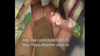 Акриловая лепка от Ольги Возиян орхидея фаленопсис.(http://vk.com/club8516331 http://olya-disainer.ucoz.ru www.fb.com/groups/106775226114007 Подпишись на мои канал и тебя ждет еще много интересных..., 2012-08-04T09:41:10.000Z)