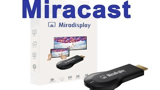MiraScreen 2.4GHz WiFi Display Dongle ᴴᴰ
