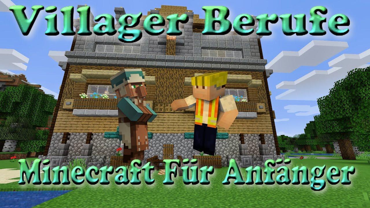 Villager Berufe-Minecraft für Anfänger-Survival 122.1226.122