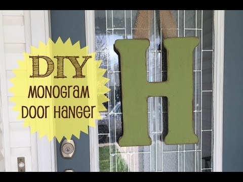 Front Door Monogram | #60
