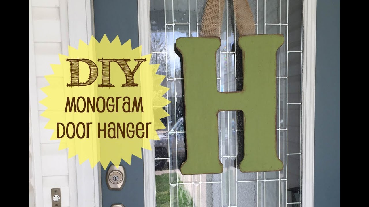 Front Door Monogram | #60 & Front Door Monogram | #60 - YouTube