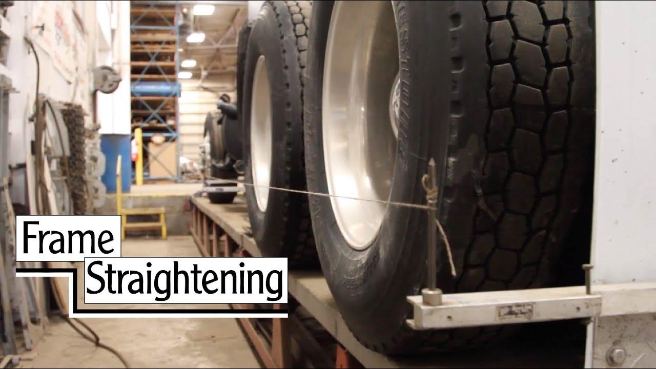 Frame Straightening - YouTube