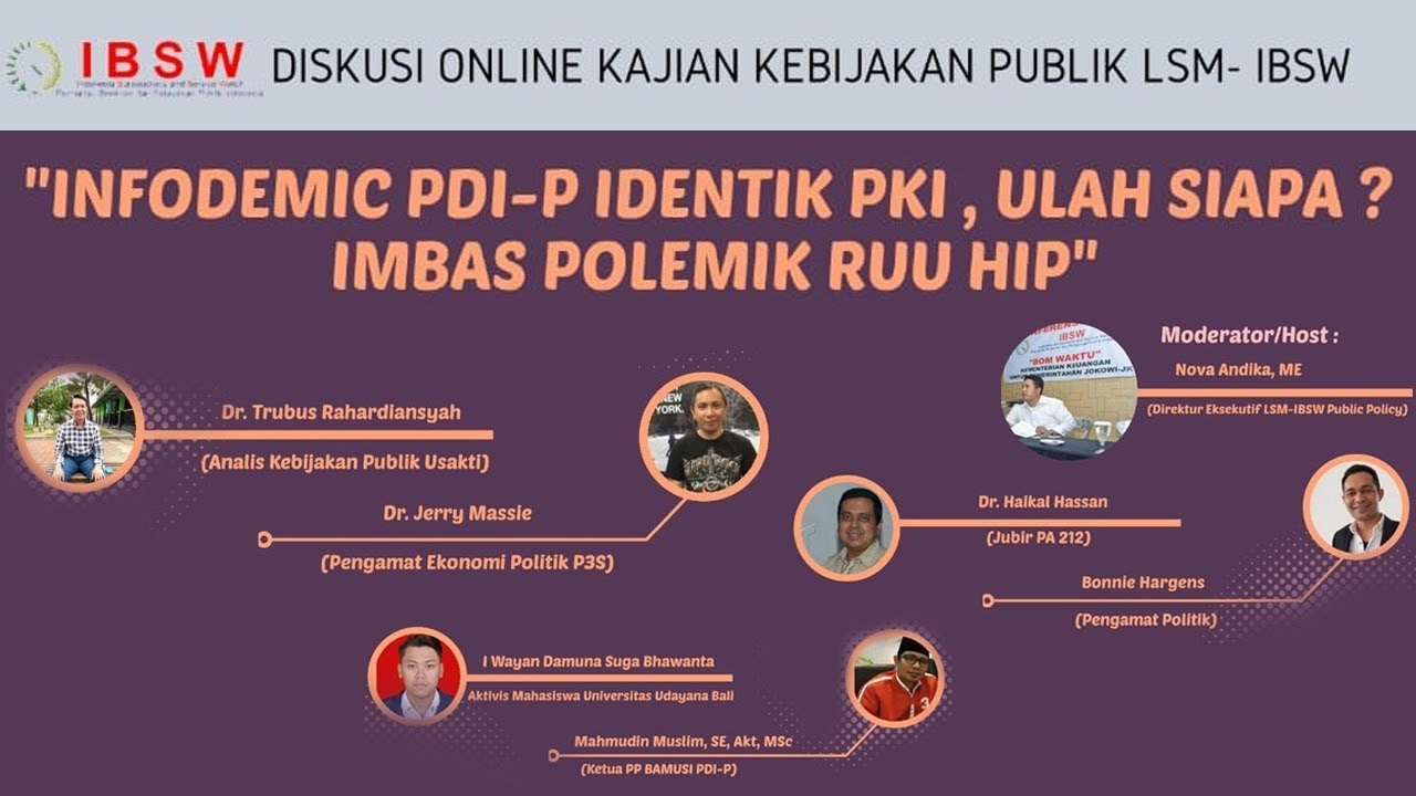 Ramee ..Bicara PKI _Khilafah HTI Haikal Hasan Jubir 212 VS Boni Harges