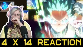 LET'S ALL CRY NOW - My Hero Academia 4x14 ( DUB ) Reaction - Zamber Reacts