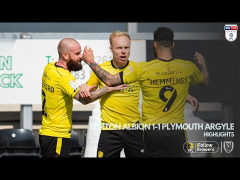 Burton Plymouth Goals And Highlights