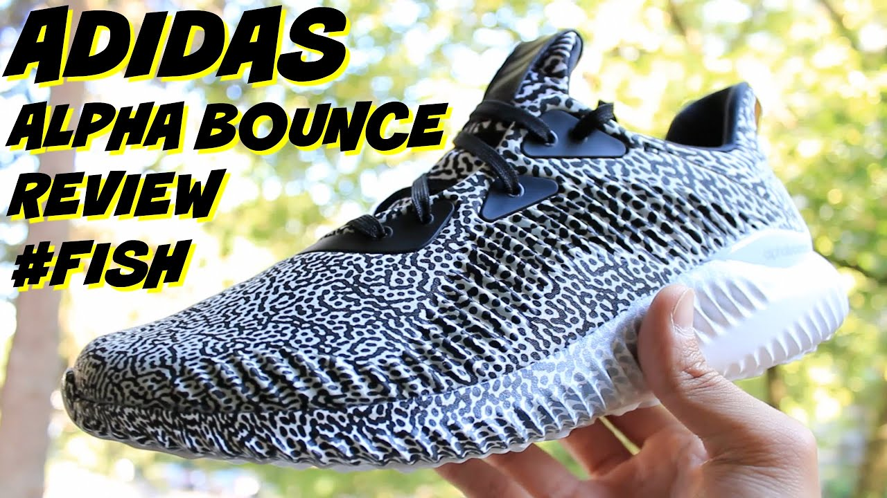 reputable site a7563 524f1 Adidas AlphaBounce Review Aramis Stayfresh