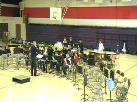 Nelson Avenue Middle School Band- Song of the Telegraph