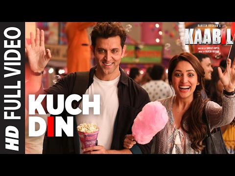 Kuch Din (Full Video Song) | Kaabil | Hrithik Roshan, Yami Gautam | Jubin Nautiyal | T-Series
