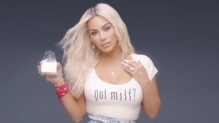 Kim Kardashian Slams Haters Accusing Her of Being Photoshopped in Fergie's 'M.I.L.F $' Video