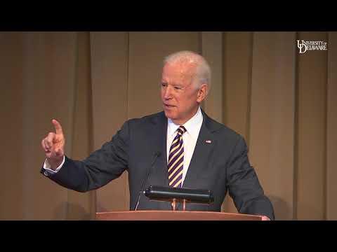 Joe Biden delivers keynote address at UD's Strengthening Partnerships conference
