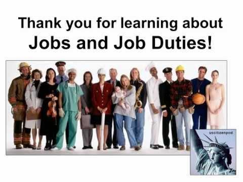 Jobs and Job Duties