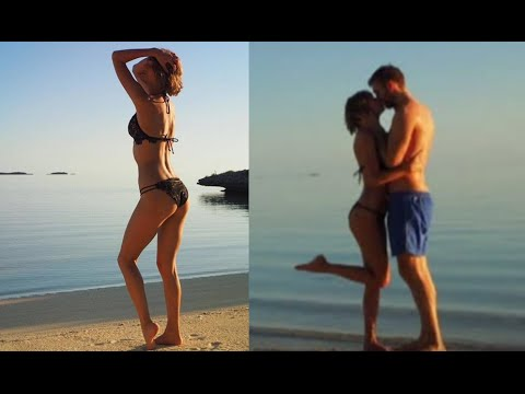 Taylor Swift, Calvin Harris Romantic Vacation Pics