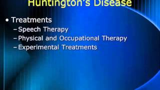 Nursing School Huntington's Disease
