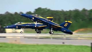 【HD】MCAS Beaufort Air Show 2011 BlueAngels