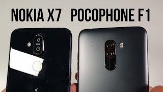 Nokia X7 vs Pocophone F1 Camera Comparison/Video/Pictures/Low Light/OIS/EIS test Nokia 8.1 plus