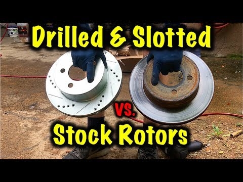 Drilled And Slotted Rotors! Are They Worth It?