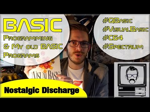 BASIC Programming On Old Computers [Discharge] | Nostalgia Nerd