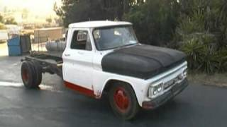 1965 GMC RedNeck Rat Rod burnout