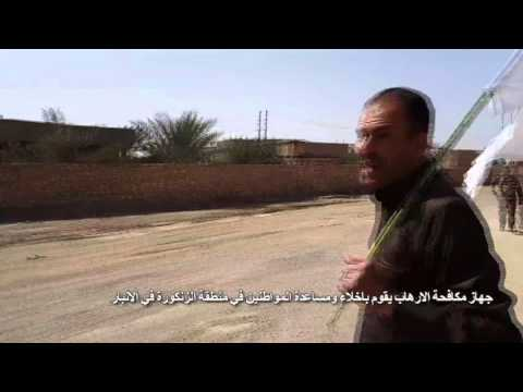 Civilians in Al Anbar Cooperates with the Gold Division