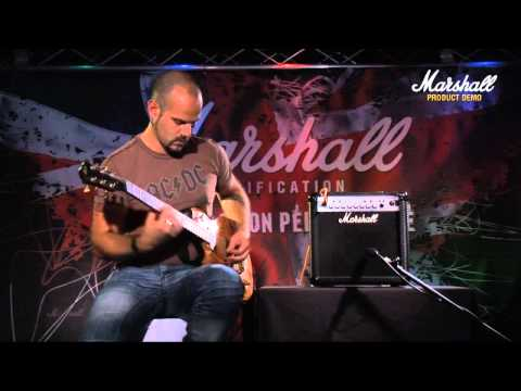 Marshall MG15CFX Product Demonstration