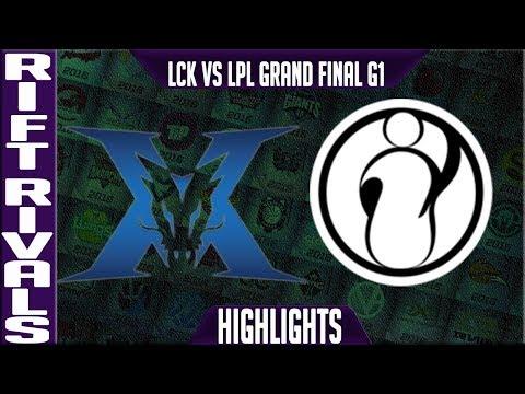 KZ vs IG Highlights Game 1 | Rift Rivals 2019 Final Bo5 LCK vs LPL | King-Zone vs Invictus Gaming