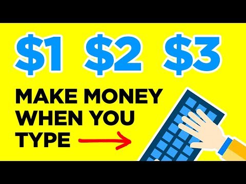 HOW TO MAKE MONEY TYPING (WORLDWIDE)