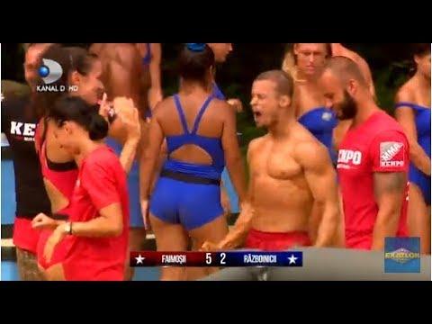 Exatlon Romania (19.09.) - Finalul jocului se lasa cu un scor incredibil pentru castigarea vilei!