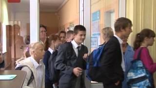В 22й школе Великого Новгорода сегодня работали спасатели