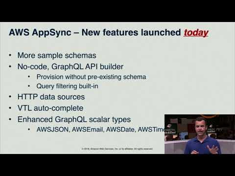 AWS NY Summit - AWS AppSync Releases Enhanced No-Code GraphQL API Builder, HTTP Resolvers