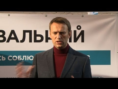 Navalny campaign for mayor of Moscow
