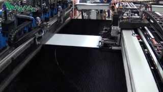 #83 Automated 6 Meter Sheet Metal Bending Line Video - WEMOMACHINES