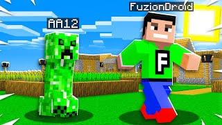 TROLLING MY BEST FRIEND AS A CREEPER IN MINECRAFT! (Minecraft Trolling Prank)