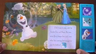 "Disney Frozen ""My Friend Olaf"""