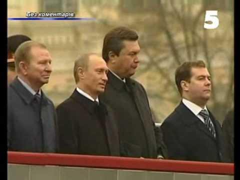 Медведев ест семечки (Путин, Медведев, Янукович жгут)