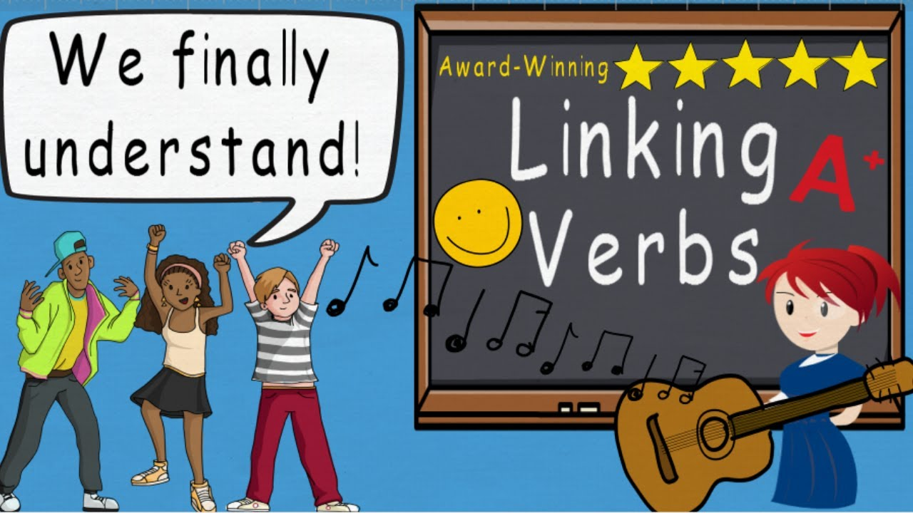 Linking Verbs   2nd Grade Grammar   Class Ace [ 720 x 1280 Pixel ]