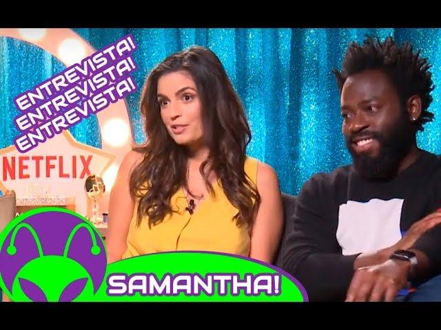 ENTREVISTA | (NETFLIX) Samantha! (Emanuelle Araujo) e Dodói (Douglas Silva)