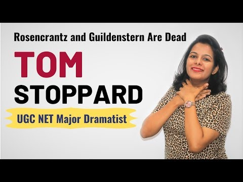 Tom Stoppard & His Major Works (Most Important video for UGC NET English)