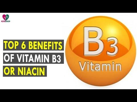 Top 6 Benefits Of Vitamin B3 Or Niacin    Health Sutra - Best Health Tips